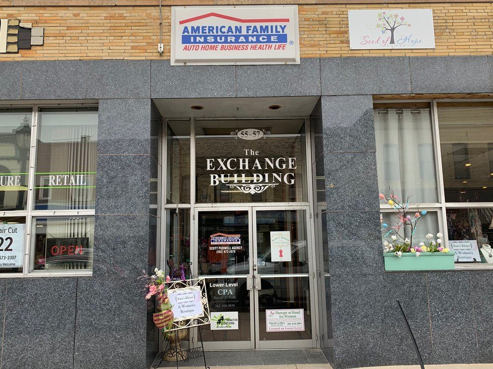 Front of an American Family Insurance Office